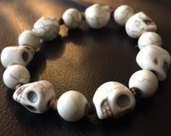 Day of the Dead Skull Bracelet