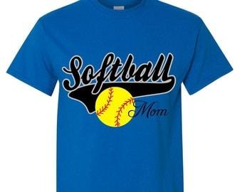 Softball Mom Shirt Softball bling