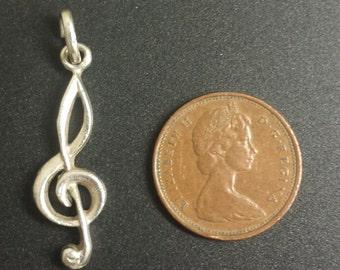 Sterling Silver .925 Ampersand Pendant