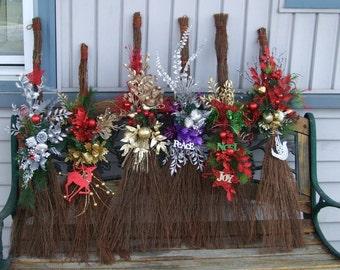 Christmas Brooms
