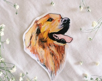 Custom Pet Portrait Sticker!