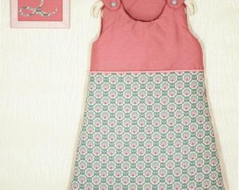 Sleeping bag Lee cotton 0-6 months - floodlight pink - floodlight blue - sleeping bag flower