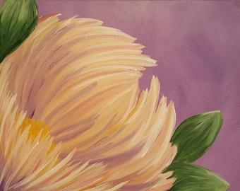 Custom Flower Paintings
