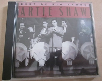 Artie Shaw Best of The Big Bands. 16 track Jazz CD from 1990