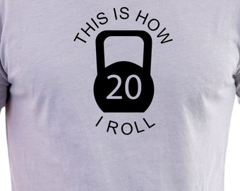 Kettlebell Funny print T-shirt