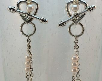 Sweetheart Earrings, 2 Pairs in 1!