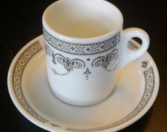 Set of Four Vintage Wedgewood Demitasse Tea or Espresso Cups