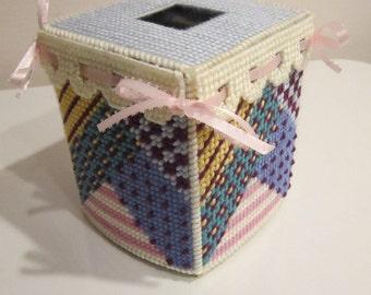 Patchwork Tissue Topper
