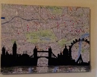 London Skyline Artwork