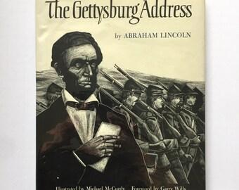 The Gettysburg Address Large Format Illustrated Children's Book