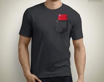 Pokedex pocket - Pokemon T-Shirt