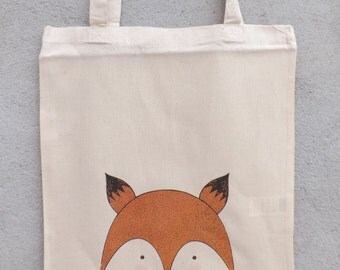 "Tote Bag ""My little fox"" - shopping bag"