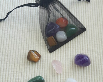Gem bag/lucky bag/healing stone bag, large