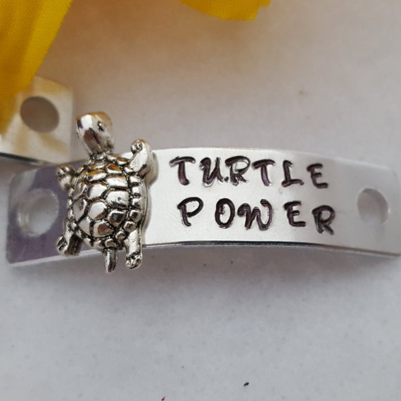 Turtle Power Shoelace Tag, Shoe Lace Charms, Running Shoe Tags, My Race My Pace, Runner Charms, Motivational Running Gifts, Turtle Charms