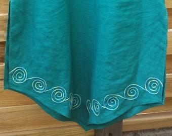 Linen dress tunic of linen tunic women