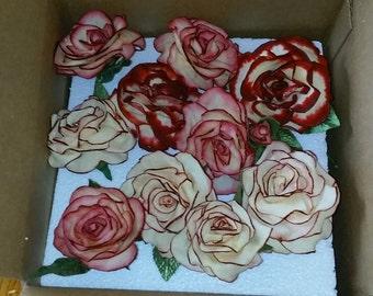 Roses, flowers.