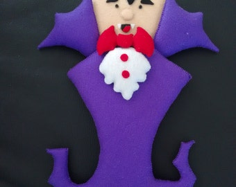 Vampire door ornament