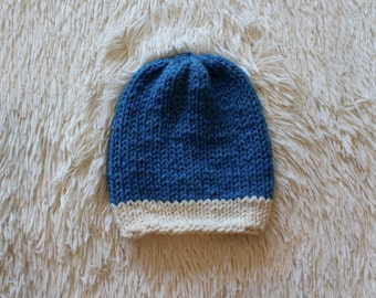 The Perfect Slouchy Hat // Sky Blue & Fisherman