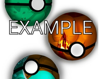 Sleeping Pokemon Pokeball. Digital download