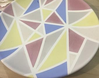 Geometric Dinner Plate