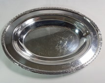 Elegant 12.5 inch Stamped Camille International Silver Company #6012