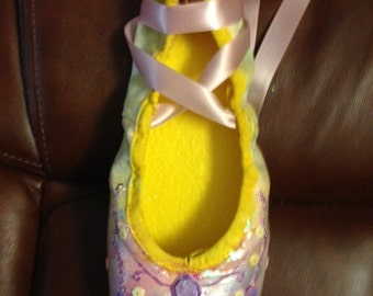 Personalized Pointe Shoe
