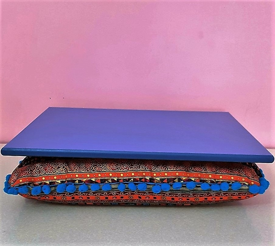 fancy lap desk lapdesk cushion tray laptop desk lap by. Black Bedroom Furniture Sets. Home Design Ideas