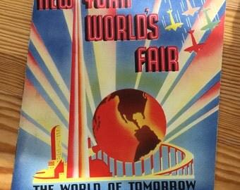 1939 New York World's Fair: The World of Tomorrow Book