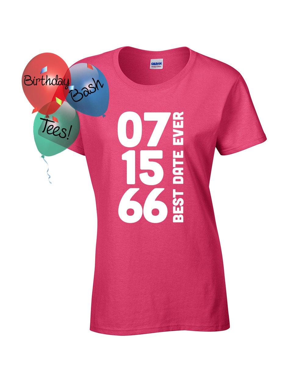 Custom Birthday Shirt Custom Womenu0026#39;s Shirt Custom