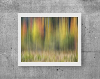 Contemporary Print, Abstract Photography, Abstract Room Art, Colorful Art Print, Green Print, Yellow Art Download, Abstract Artwork