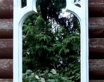 Chapel Interior Gothic Mirror
