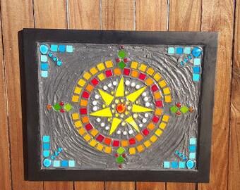Yellow Star mosaic
