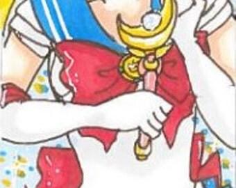 Sailor Moon Bookmarks (Part 1)