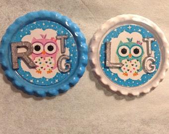 Custom Made Owl Xray Markers Border