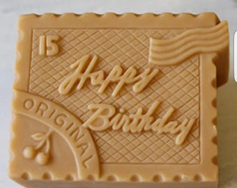 Organic Shea Butter Or Goats Milk Happy Birthday Soap!