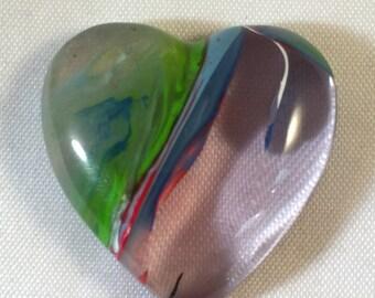 Surfite Heart Cabochon Gemstone