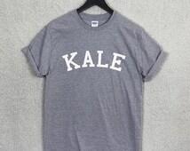 KALE T Shirt Top Unisex Flawless Vegan Gym Music Fashion Organic
