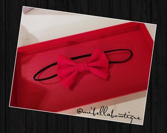 Perfect little pretty Red Bow
