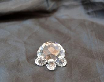 Glass turtle figure Swarovski Crystal Figure Tortoise Collection