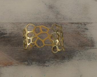 Barnacle Series Cuff Bracelet, Medium