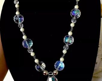 Beautiful handmade beads long necklace