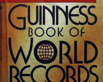 "Guinness Book of World Records ""Giant 1988 Revised Edition"""