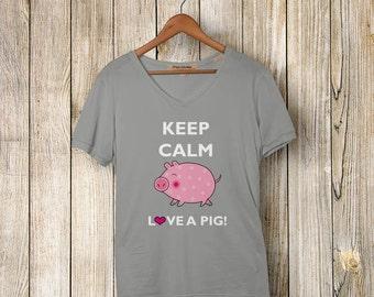 Keep Calm Love a Pig