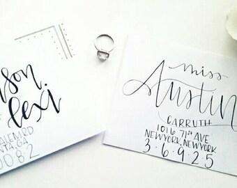 Custom Wedding Envelopes