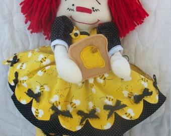 Honey-Primitive Raggedy Ann