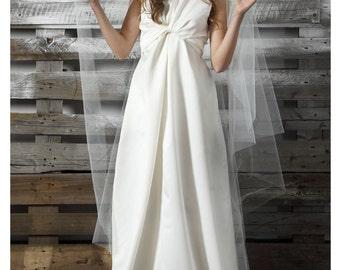 White Bridal Dress, Floor Length Dress, Long Maxi Dress, Romantic Wedding Dress, Elegant Dress, Summer Wedding Dress, Fashion Wedding