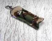 Camouflage Lip Balm Holder with profits going to cancer research