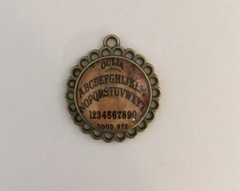 Ouija Board Charm, Antique Ouija Board