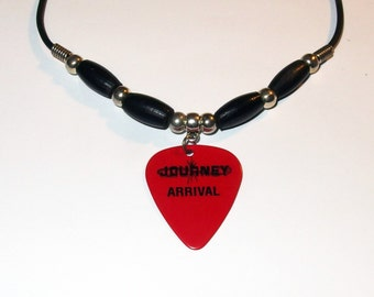 Journey Ross Valory Arrival Guitar Pick Necklace