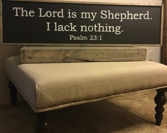 Psalm 23 Wall Sign